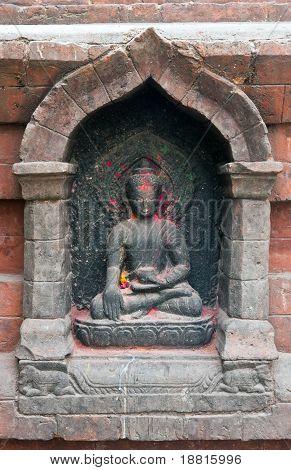 Buddha At Swayambhunath