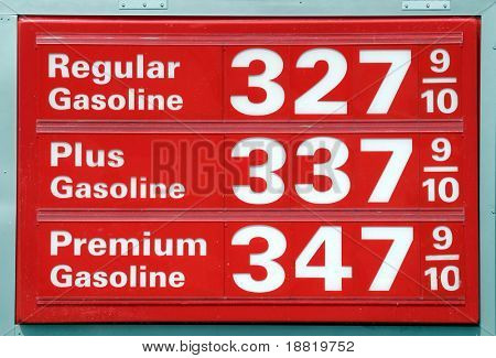 Gasoline prices in California
