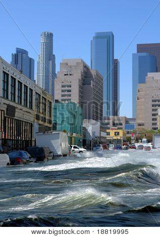 Inundações na cidade