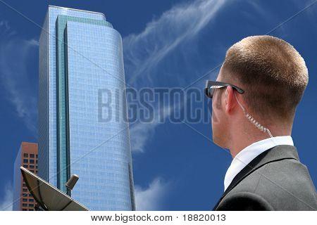 Security agent surveillance