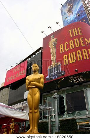 Oscar academy award at the Kodak Theather in Los Angeles