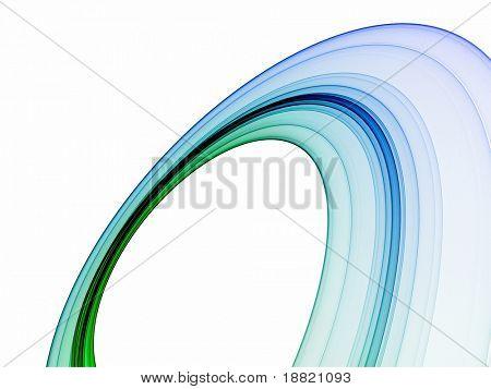Blauer Ring-Abbildung