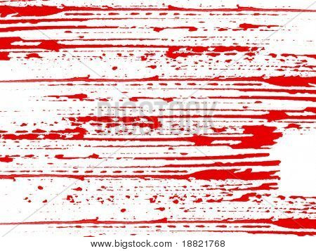 Abstract red on white brush stroke texture