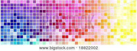 Abstrakte farbige Quadrate