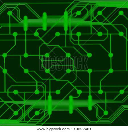 CIrcuit board of computer