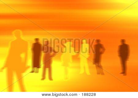 Menschen Hintergrund Dream-team
