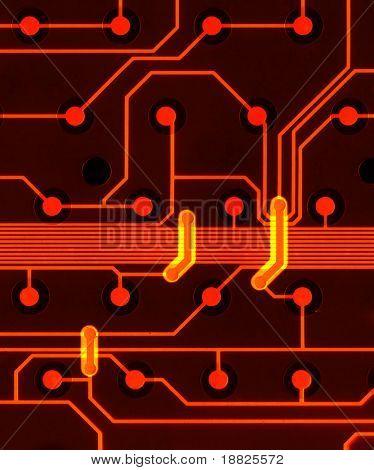 Illustrated circuit board