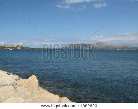 Bay Of Pollensa,Mallorca,Spain