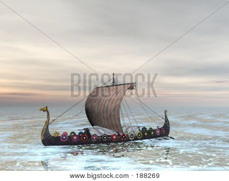Viking Dragon Boat