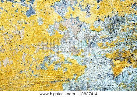 Old colorful wall texture