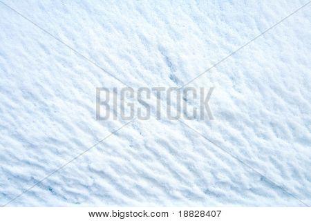 Textura de nieve fresca