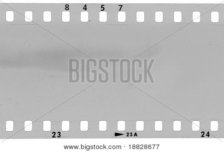 Analog photography film frame