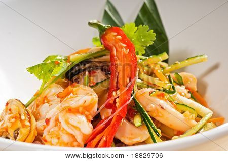 Fresh Seafood Thai Salad