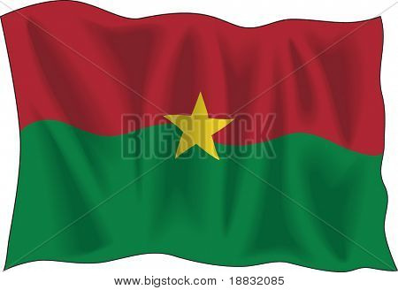 Flag of Burkina-Faso