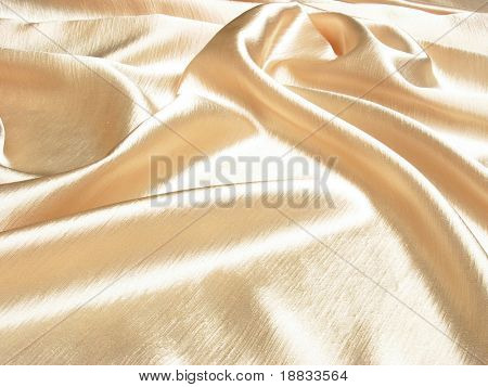 soft gold satin background