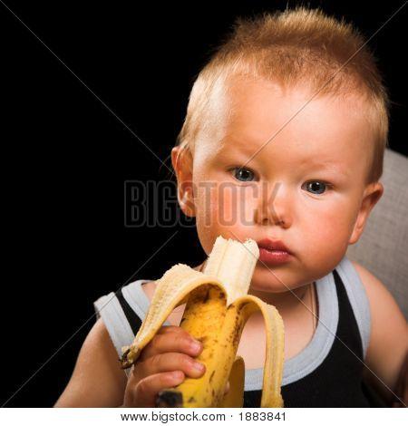 Boy Wit Banana