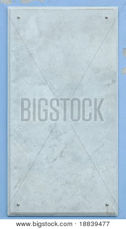 white marble sign board frame background texture