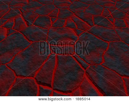 Lava Through The Cracks