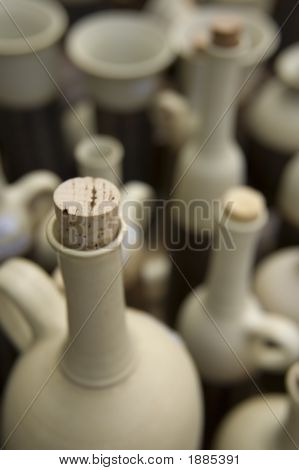 Ceramic Bottles With Cork