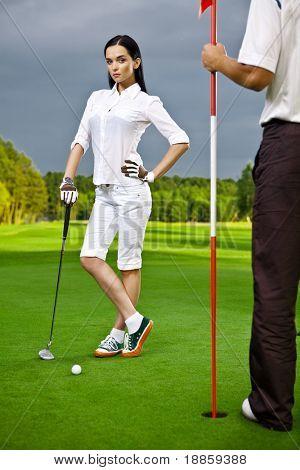 golf-girl