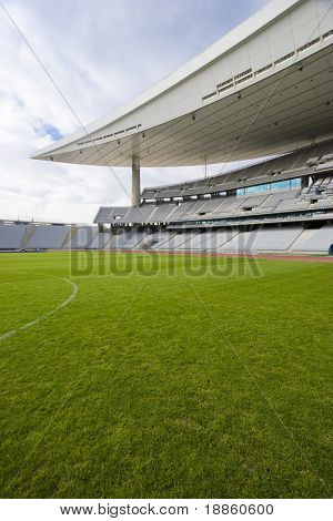 Estadio Olímpico vacío