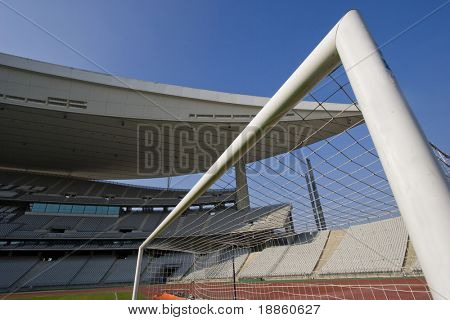 Goal And The Stadium