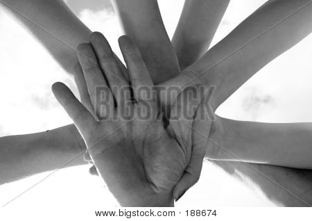 Hands Of The Team