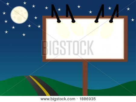 Night Billboard