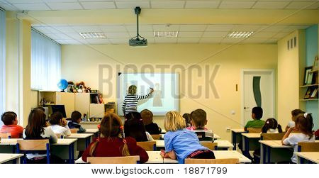Lektion in der Schule