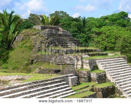 Mayan Ruins Of Altun Ha