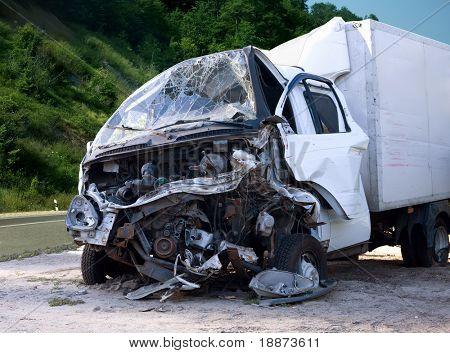 Notfall-Fahrzeug.