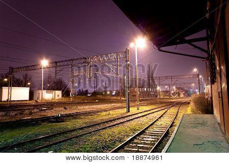 train depot abstract