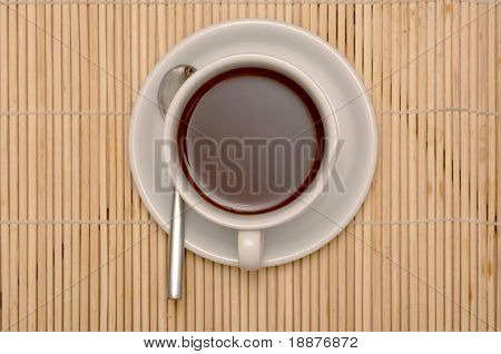 cup of coffee with clipping paths