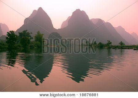 Yangsho landscape