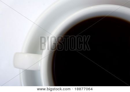 a photo of coffe cup with clipping paths