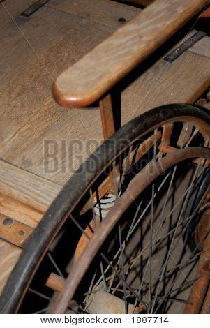 Antique Wheel Chair