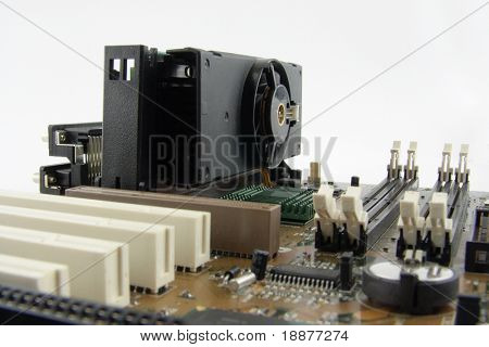 systemboard with high-power slot processor