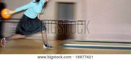 woman bowler