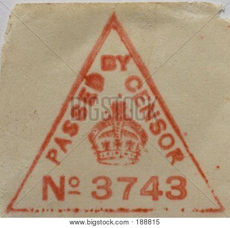 Censor's Stamp