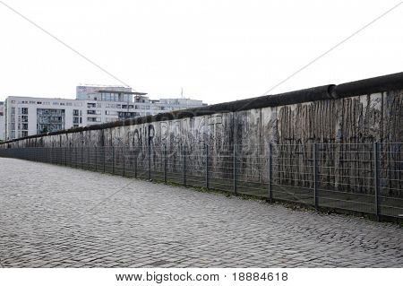 famous wall in Berlin. may be use for tourist card and posters