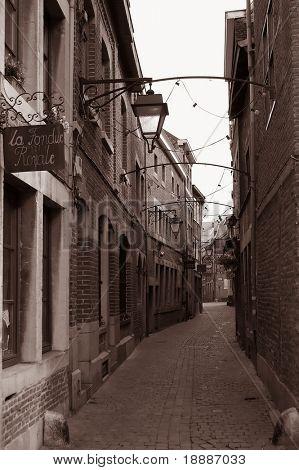 Liege, a town in Belgium