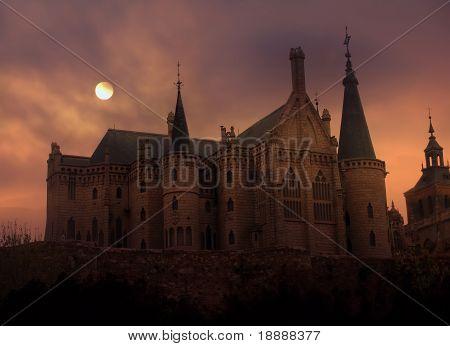 Castle In Sunset