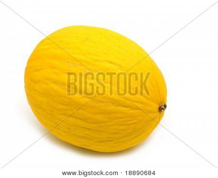 fresh mellon on white background