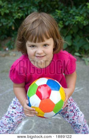 Girls Play Football
