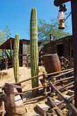 pic of wild west  - nature and architecture in the wild west style - JPG