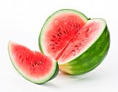 image of watermelon slices  - watermelon - JPG