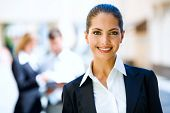 Stock photos: Business picture of smiling woman