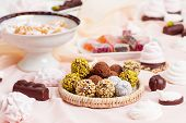 Assorted Chocolate Truffles poster