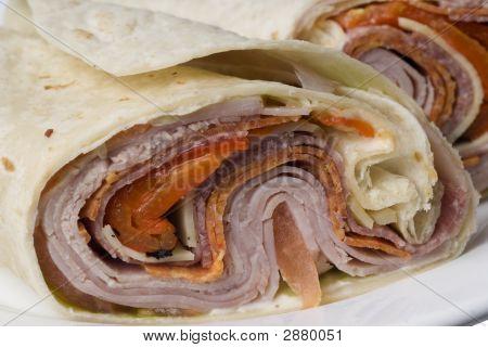 Italian Antipasto Wrap