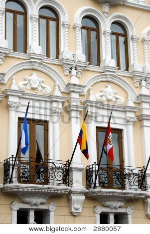 Colonial Spanish Architecture Quito Ecuador